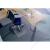 RS OFFICE Székalátét, kemény felületre, E forma, 75x120 cm, RS OFFICE Roll-o-Grip (BRPE75)