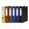 DONAU Iratrendező, 50 mm, A4, PP, élvédő sínnel, DONAU Premium, fekete (D3955FK)