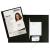 Biella Prezentációs mappa, karton, A4, BIELLA Pearl 2, fekete (D6411FK)