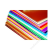 DEKOR Dekor karton 2 oldalas 48x68 narancs (ISKE126)