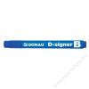 DONAU Táblamarker, 2-4 mm, kúpos, DONAU D-signer B, kék (D7372K)