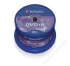Verbatim DVD+R lemez, AZO, 4,7GB, 16x, hengeren, VERBATIM (DVDV+16B50) írható és újraírható média