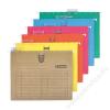 DONAU Függőmappa, gyorsfűzős, karton, A4, DONAU, barna (D7430B)