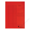 VICTORIA Gyorsfűző, karton, A4, VICTORIA, piros (IDPGY07)