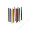 FELLOWES Spirál, műanyag, 14 mm, 81-100 lap, FELLOWES, kék (IFW53467)
