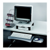 FELLOWES Billentyűzettartó, kihúzható, FELOWES Underdesk (IFW93804)