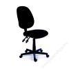 MAYAH Irodai szék, fekete szövetborítás, fekete lábkereszt, MAYAH Happy Plus (BBSZVV06)