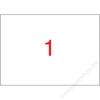 APLI Etikett, univerzális, 210x420 mm, A3, APLI, 100 etikett/csomag (LCA11352)