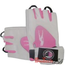 BioTech USA Női kesztyű Pink-fehér(S)