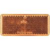 Conrad Reflektor, négyszög, narancs, SecoRüt 90255