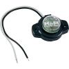 Conrad LED-es oldalsó helyzetjelző lámpa, kerek, piros, 12/24 V, SecoRüt 24127