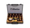 Beta 1105/C29T 29 darabos tömítéskivágó készlet, Ø 2-50 mm autójavító eszköz
