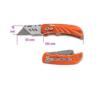 Beta 1777T behúzható pengéjű kés acélból, 5 tartalékpengével szállítva kés és bárd