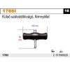Beta 1766I külső szélvédőkivágó, fémnyéllel autójavító eszköz