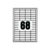 Fortuna ETIKETT FORTUNA 48, 5X16, 9 UNIVERZÁLIS