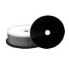MediaRange CD-R 52X Black Printable Cake (25) /MR241/ írható és újraírható média