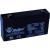 DIAMEC 6V 1,3Ah zselés akkumulátor DM6-1.3