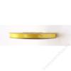 . Szatén szalag, 6 mm, sárga (PTS6084)