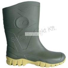 Dunlop DUNLOP DEE rövid szárú zöld PVC csizma
