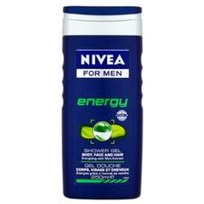 Nivea For Men Energy Tusfürdő (250ml) tusfürdők