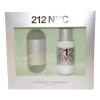 Carolina Herrera 212 női parfüm Set (Ajándék szett) (eau de toilette) edt 100ml + Testápoló tej 100ml