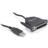 DELOCK USB-->párhuzamos adapter Delock 61509