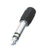 Jack dugó átalakító , 6,3 mm-es dugó - 3,5 mm-es aljzat átalakító