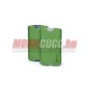 CELLY Galaxy S3 méretű bőr tok, Zöld