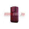 Redpoint iPhone 5 méretű bőr tok,mágneses,bordó