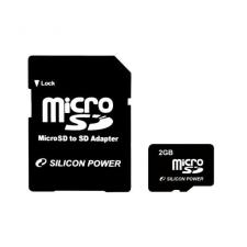Silicon Power microSD 2GB memóriakártya