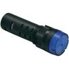 Conrad LED-es Pilot Lihgt villogó és hangjelzést adó izzó 16 mm 12 V DC/AC piros Barthelme 58931211