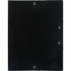 Exacompta gumis mappa PP  fekete  A4
