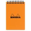 Clairefontaine Rhodia Classic narancs spirálblokk  80lap  kockás 10 5x14 8cm