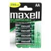Maxell AA akku (ceruza) 2300mAh (4)
