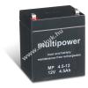 Multipower Ólom akku 12V 4,5Ah (Multipower) típus MP4,5-12