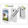 Muvit Samsung i9500 Galaxy S4 hátlap - Muvit miniGel - white