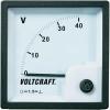 Voltcraft Analóg beépíthető táblaműszer, beépíthető voltmérő 40V Voltcraft AM 72x72