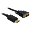 DELOCK Cable Displayport male   DVI 24+1 male 3m