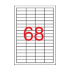 APLI uni. 48,5x16,9mm 6800db/cs