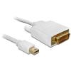 DELOCK Cable mini Displayport -> DVI 24pin male 1m
