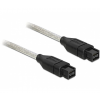 DELOCK Cable FireWire összekötő 9/9 3m (82600)