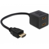 DELOCK Adapter HDMI High Speed with Ethernet 1x ma