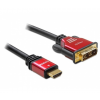 DELOCK Cable HDMI - DVI Cable male / male 3m (8434