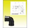 Elektro fitting 32 könyök FRIALEN hűtés, fűtés szerelvény