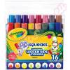 Crayola : Különleges hegyű 16db-os mintázófilc