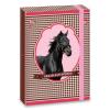 Ars Una Lovas füzetbox - A4 - barna