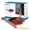 LogiLink PCI Express interface card SATA 2x + IDE 1x