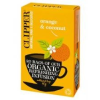 Clipper bio koffeinmentes narancs-kókusz tea, 20 filter