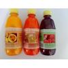 Diabetikus gyümölcsszörp, málnás-almás