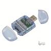 LogiLink USB 2.0-ás duál kártyaolvasóSD/SDHC & Micro SD kártyákhoz
